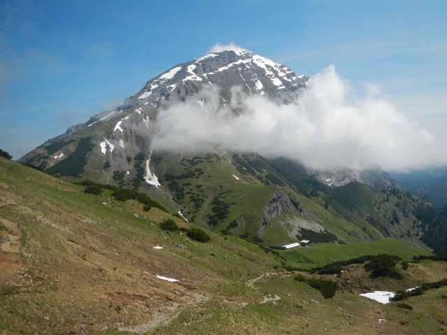Das Sonnjoch (2457m) - ein schöner Aussichtberg im Karwendel