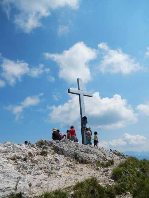 Gipfelkreuz Heimgarten