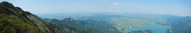 Panorama vom Herzogstand