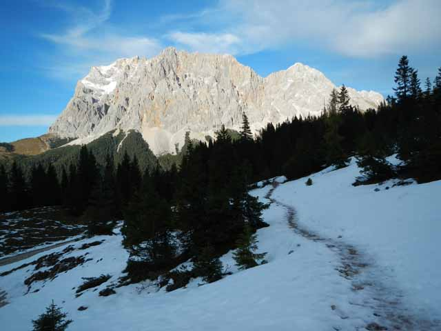 Ehrwalder Alm Abstieg