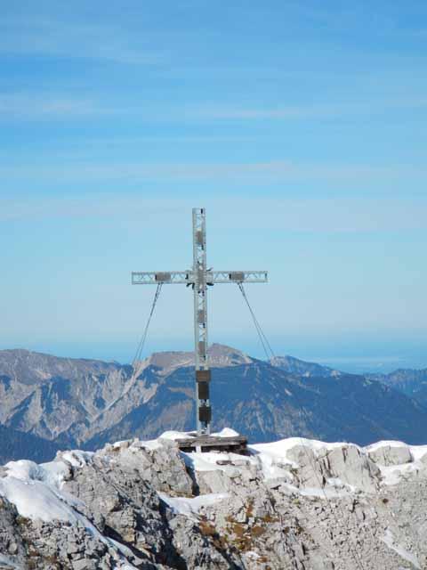 Ehrwalder Sonnenspitze Gipfelkreuz
