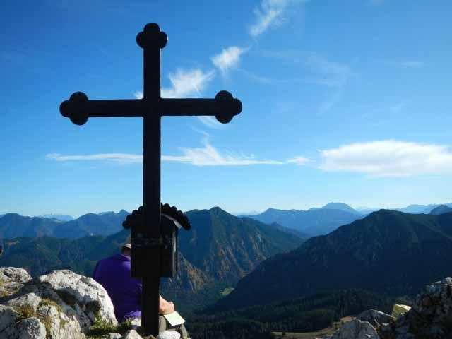 Gipfelkreuz Fockenstein