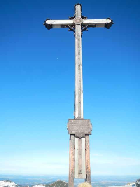 Gipfelkreuz der Rotwand (1884m)