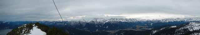 Simetsberg Panorama Süd