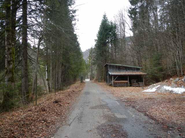 Simetsberg Privatweg durch das EON-Gelände