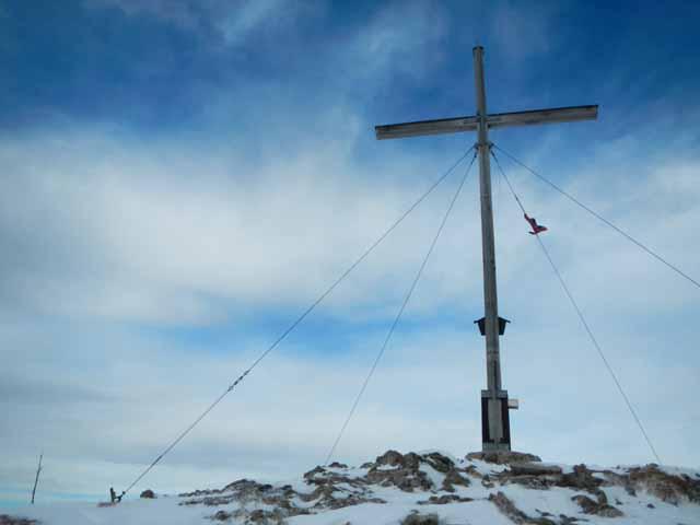 Jochberg_Gipfelkreuz