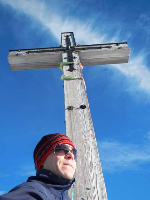Schöttelkarspitze Gipfelkreuz (2050m)