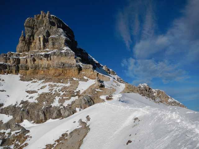 Schöttelkarspitze Gipfelaufbau