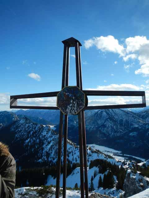 Teufelstättkopf Gipfelkreuz auf 1758m