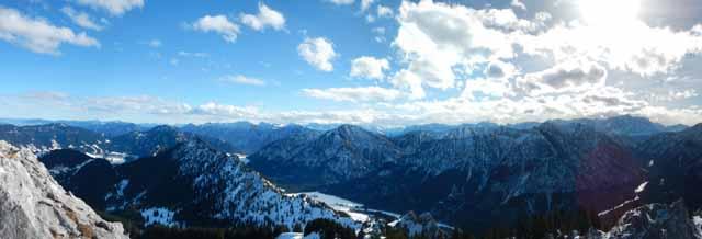 Teufelstättkopf - Das Panorama vom Gipfel