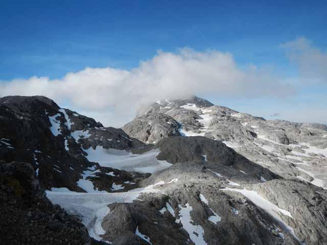 Hochkönig - Gipfel in Wolken gehüllt