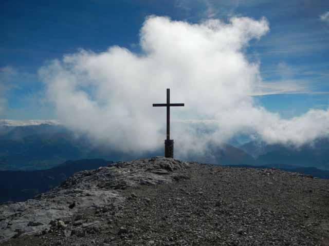 Hochkönig - Gipfelkreuz auf 2941m