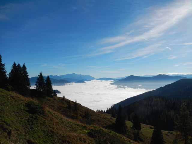 Hochkönig - Nebel im Tal