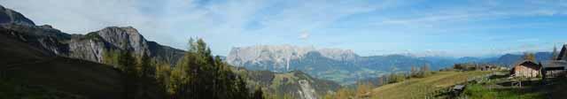 Hochkönig- Panorama Ost Tennergebirge